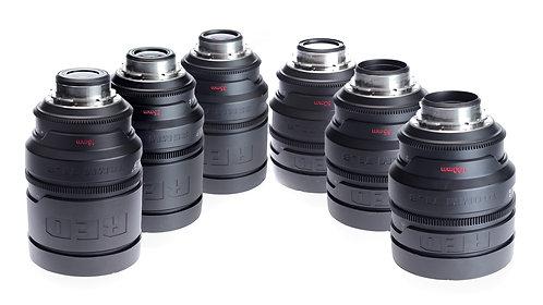 RED Pro Prime 6 Lens Set (Metric)