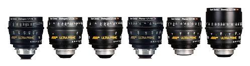 ARRI/ZEISS Ultra Prime 6 Lens Set