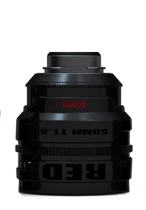 RED Pro Prime 50mm T1.8, PL Mount (Metric)