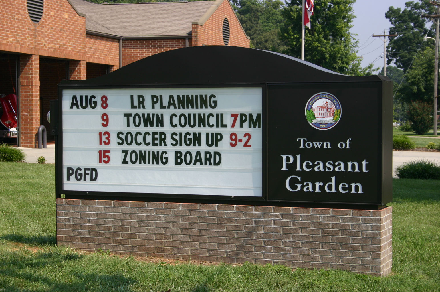 Clark Sign Corporation Sign Design Message Centers