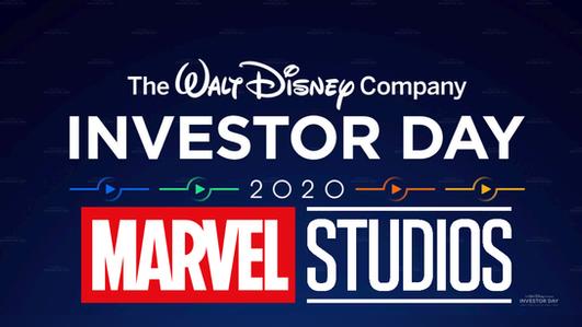 Disney Investor Day 2020 Marvel News