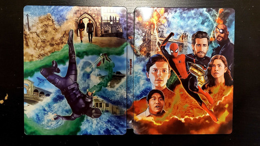 Spider-Man Far From Home 4K Steel Book Review