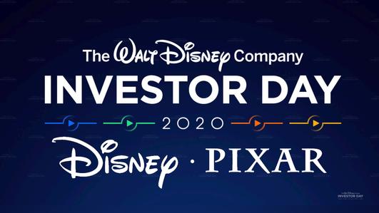 Disney Investor Day 2020 Disney and Pixar News
