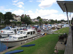 All moored up