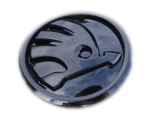 skoda emblem schwarz embrachedition. Black Bedroom Furniture Sets. Home Design Ideas