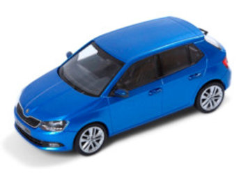 SKODA NEW FABIA, 1:43, RACE BLUE
