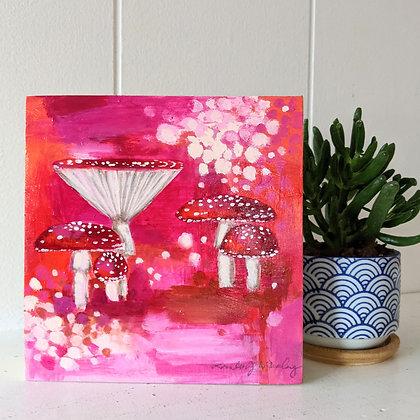 Mini Mushrooms Pink #5