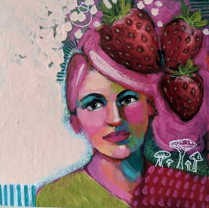 """Strawberry Hat"""