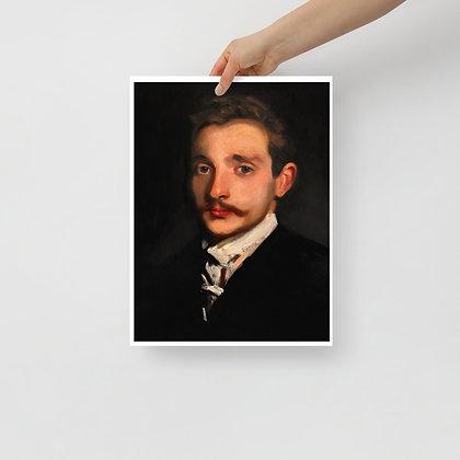 Study of Sargent Print