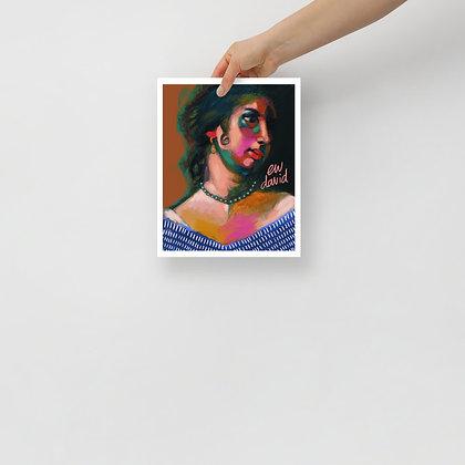 Ew David Print 8x10