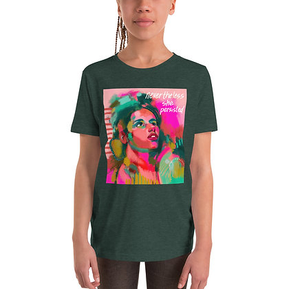 She Persisted Youth T-Shirt