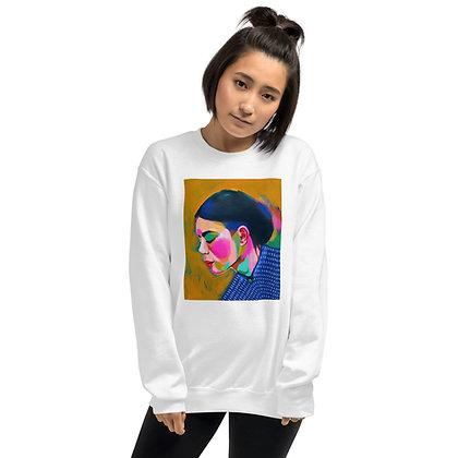 Woman In Blue - Unisex Sweatshirt