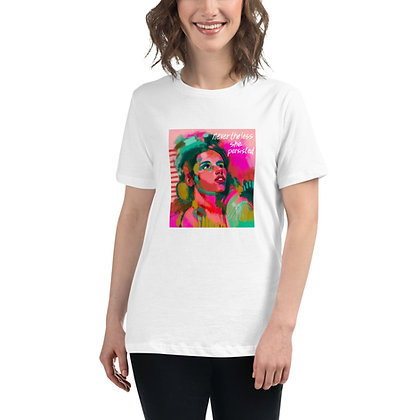 She Persisted - Women's Relaxed T-Shirt
