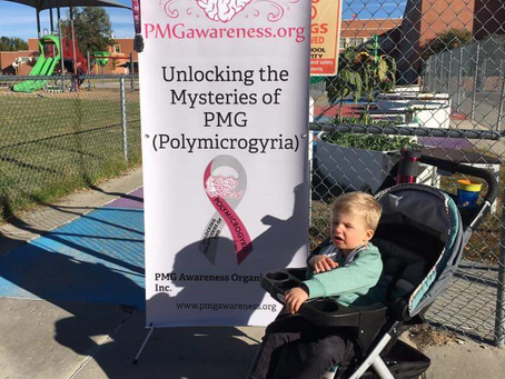Meet Evan, he has a #RareDisease Polymicrogyria (PMG), and his Mom, Tara, is a Rockstar Advocate!