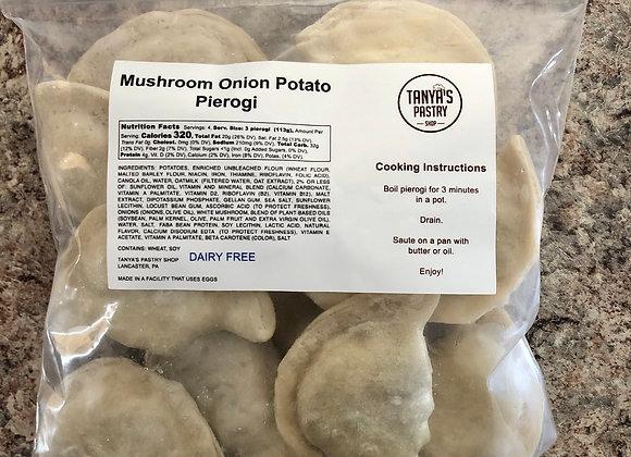 Mushroom Onion Potato (vegan)