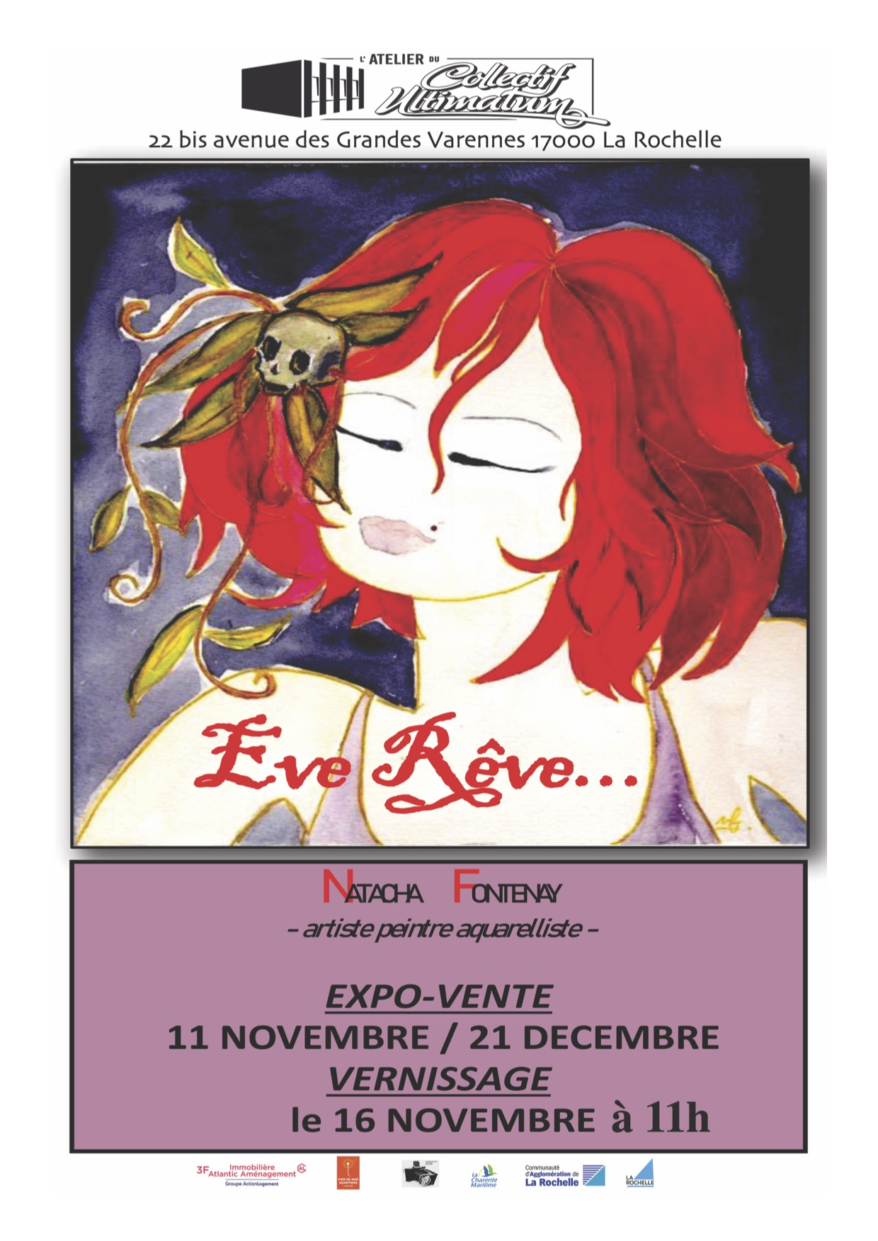 affiche expo eve