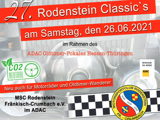 Rodenstein Classic jetzt am 26.06.21