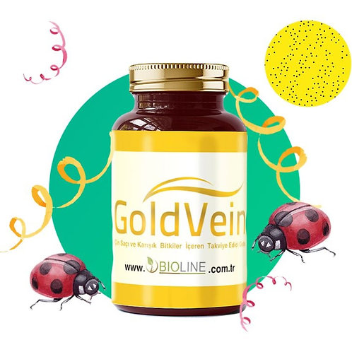 GoldVein 500 mg -  90 Tablet