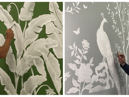 Discover the bas relief sculpture wall art of MJ Atelier