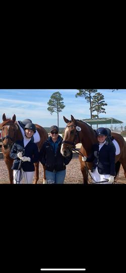 Katelyn/rowan(left) Taylor (middle) Lauren/Louie(right)