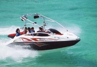 モーターボートの写真