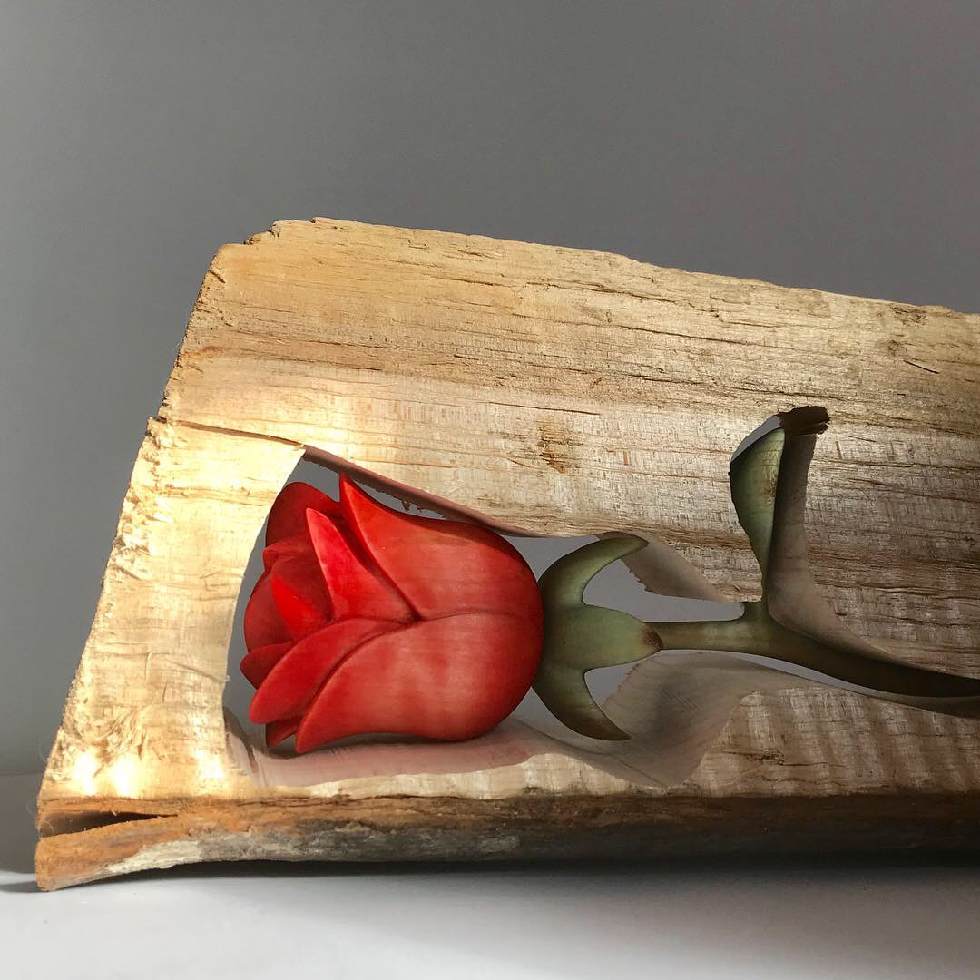 Firewood Rose (sold)