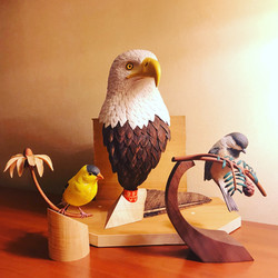 Bald Eagle Bust (sold)
