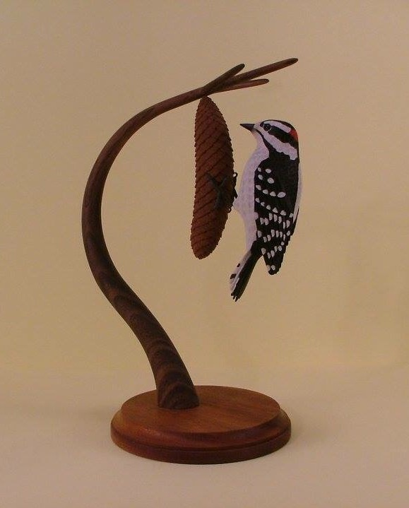 Downy Woodpecker (sold)