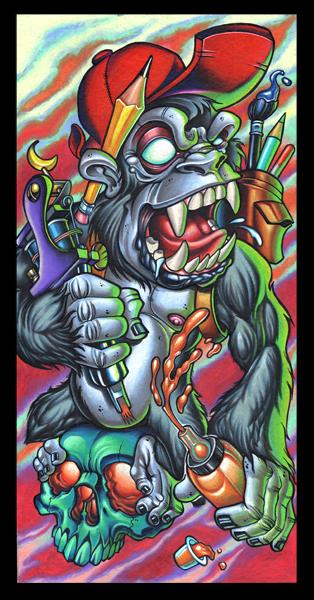 Gorilla artist 11x17