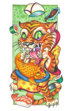 sushi tiger