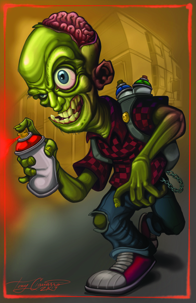 zombie graffiti 2019revisied8-12