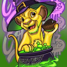 Covert Lion Covert Cups