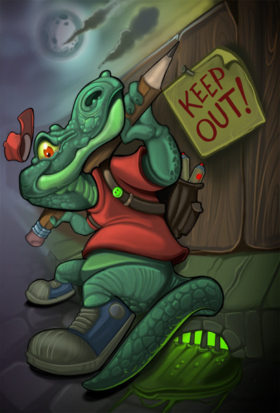 Gator Keep out