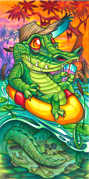 gator float