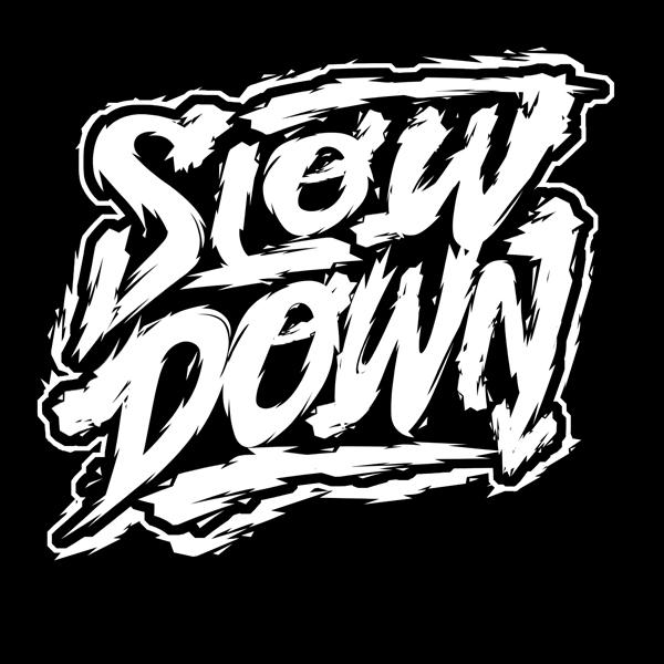 slowdown sketchy logo