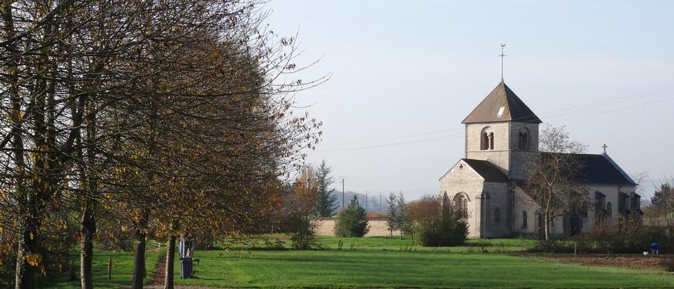 Eglise romane du 13ème siècle