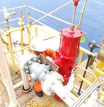 Servicio offshore a válvula automatica baja presion