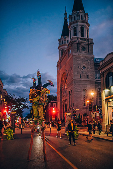 Marionnettes plein la rue 2020