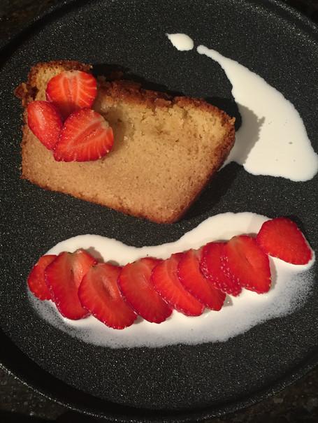 Plum cake citron et vanille à la farine de riz