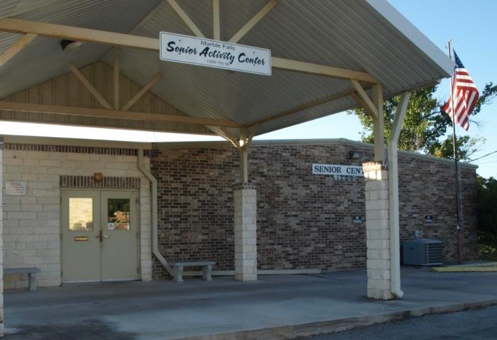 Marble Falls Activity Senior Center Building