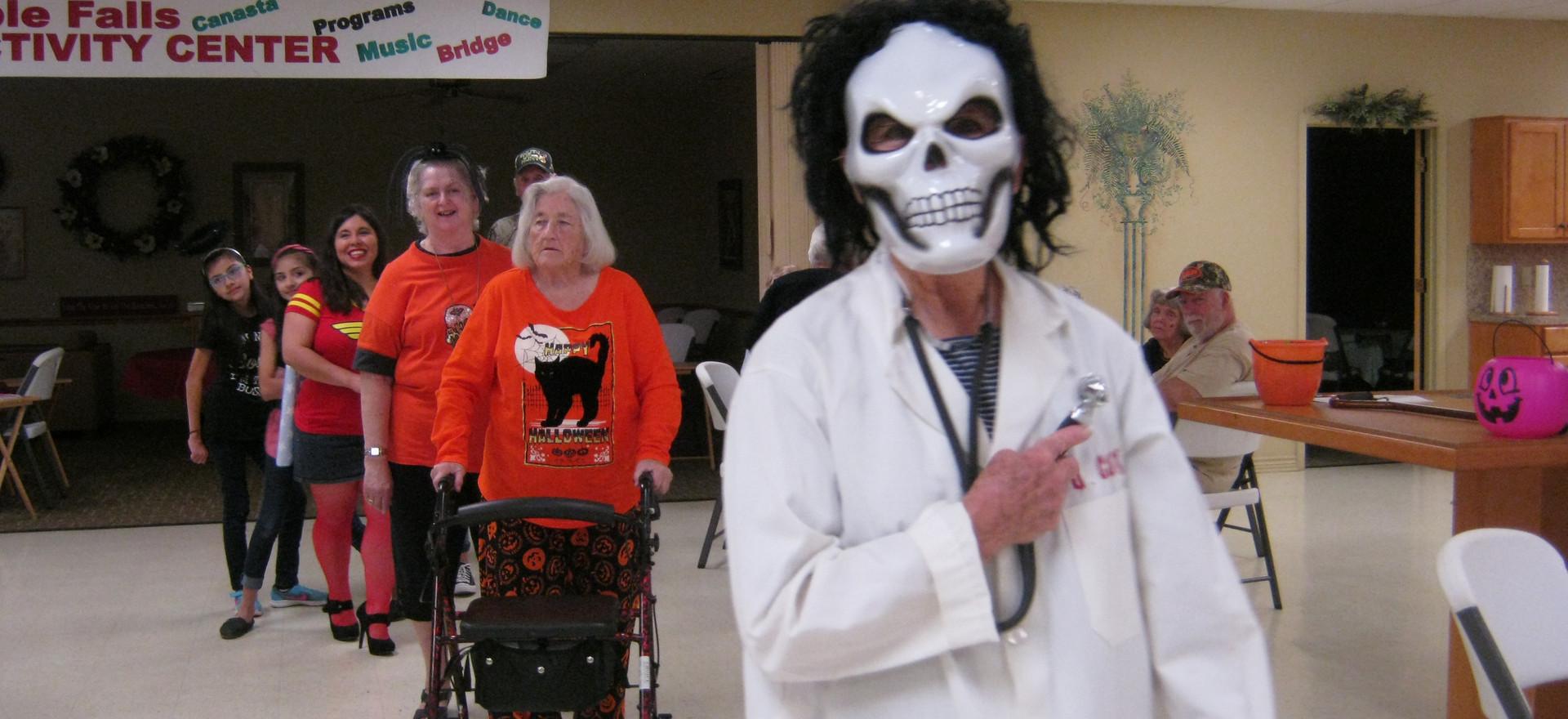Helen DeLancey - Halloween Party