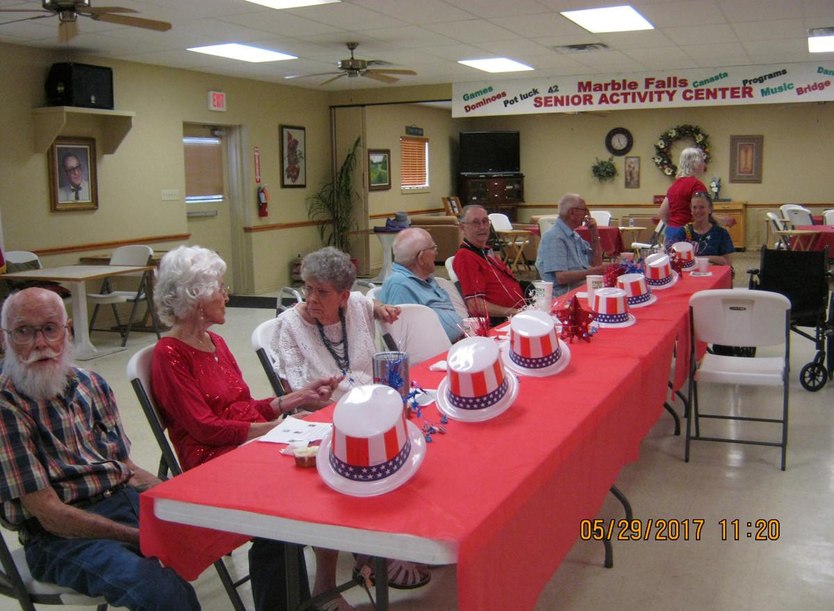 Veterans Celebrating