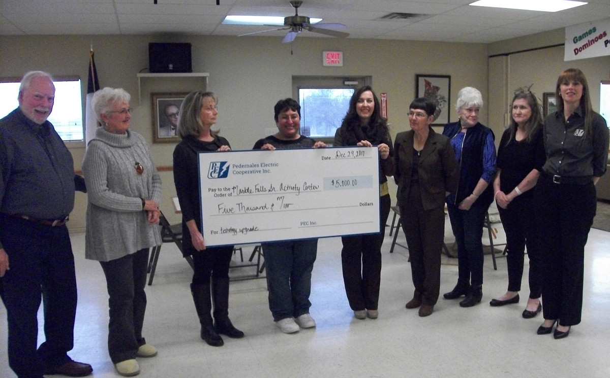 Grant donated by PEC