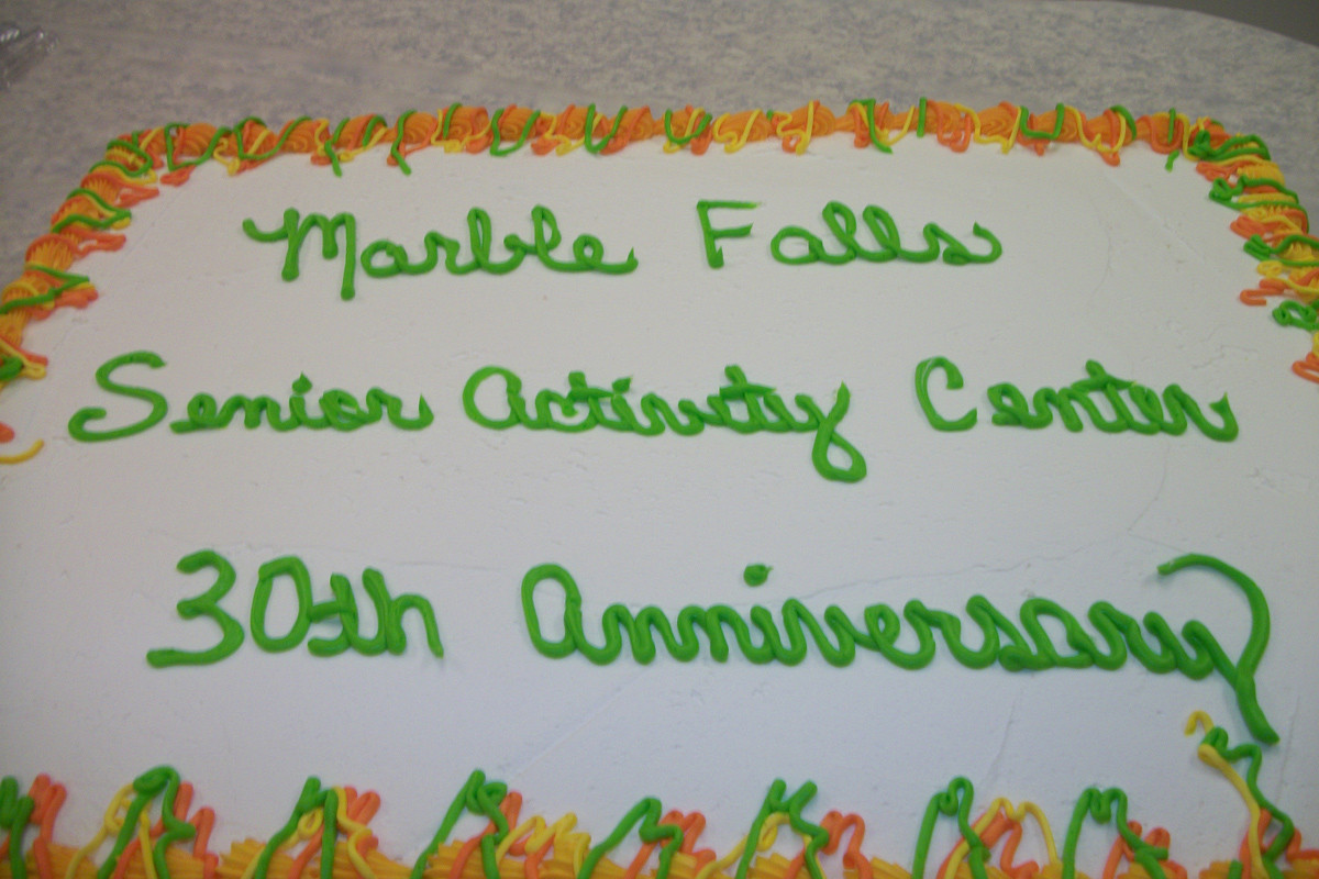 Cake Celebrating our 30th Anniversary