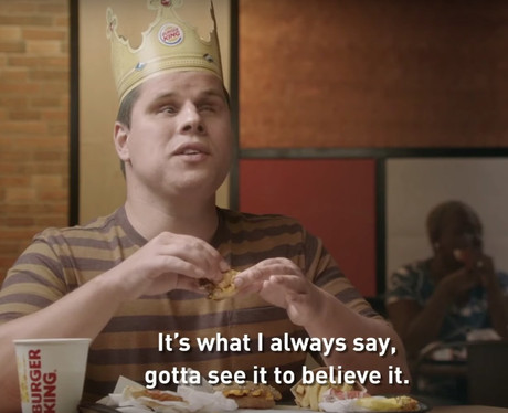 """Burger King champions inclusivity with this primetime ad for those who can't see"" MAD OVER MARKETING"