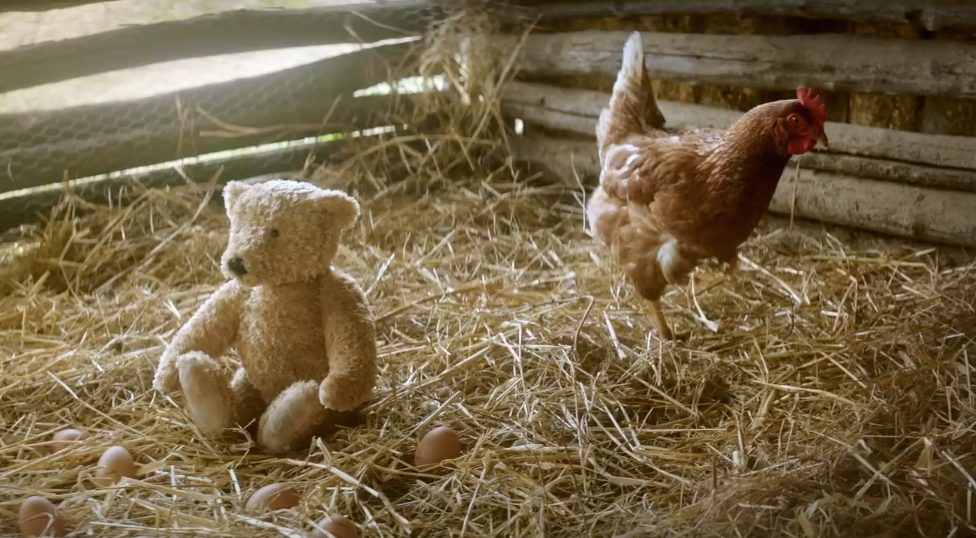 """This holiday ad about a girl, her grandpa and a teddy bear may have you in tears"" AD AGE"