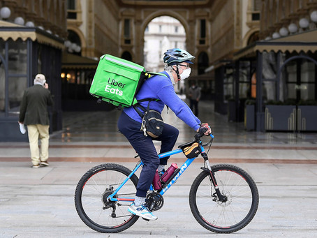 Grocery demand soars whilst takeaway delivery growth moderates