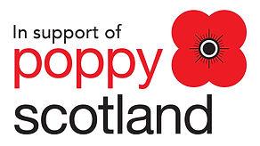 Poppyscotland Logo (stacked - In support