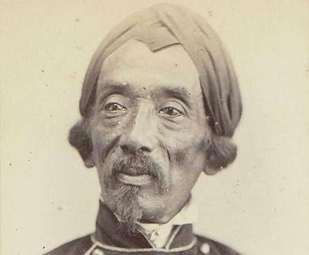 Portret van Raden Saleh