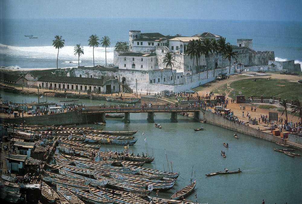 Kasteel Elmina, Ghana